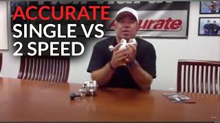 Single Speed vs. 2-speed