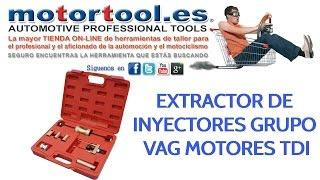Extractor de inyectores Grupo VAG motores TDi
