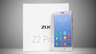 lenovo Zuk Z2 pro Unboxing & Hands-on Review ENG/CHS SUBS