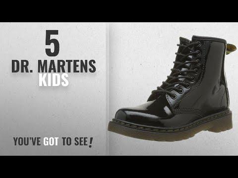 Top 10 Dr. Martens Kids [2018]: Dr. Marten's Brooklee Patent, Unisex-Child Boots