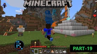 [Hindi] MINECRAFT GAMEPLAY | HELPING VILLAGERS AND ACTIVATING BEACON#19