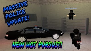 [Roblox: Vehicle Simulator] Pro-Level Hot Pursuit
