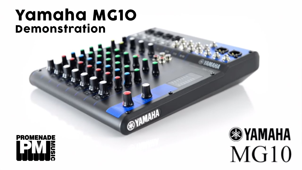yamaha mg10 analog mixing console youtube. Black Bedroom Furniture Sets. Home Design Ideas