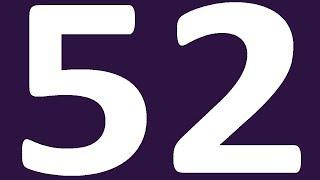 АНГЛИЙСКИЙ ЯЗЫК УРОК 52 УРОВЕНЬ 0  АНГЛИЙСКИЙ С НУЛЯ  АНГЛИЙСКИЙ ДЛЯ НАЧИНАЮЩИХ УРОКИ