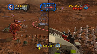 LEGO Star Wars III: Versus Mode - Geonosis and Malastare