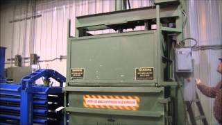 Load King Model V60 30 Vertical Baler