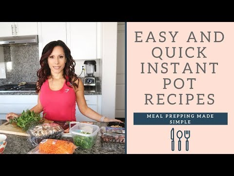 Easy Mexican Flavor Instant Pot Recipes