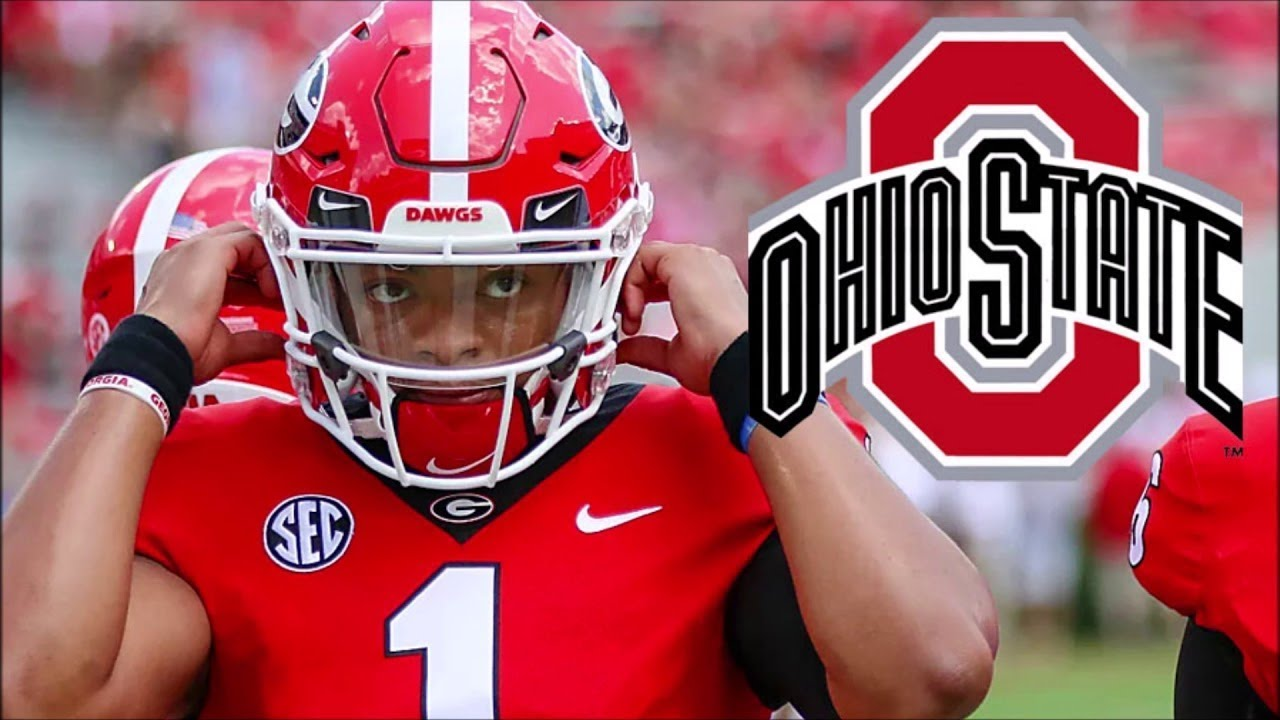 5acab11d285 Is Justin Fields SPECIAL? / Ohio State Buckeyes Passing Attack.  MarkRogersTV College Football