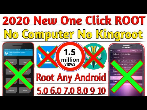 2020 New One Click Root Method | No PC NO TWRP No Kingroot | 100% ROOT Any Android Version 4.0 TO 10