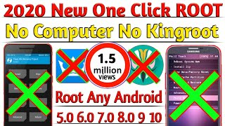 Gambar cover 2019 New One Click Root Method [ No PC NO TWRP No Kingroot ] 1000% Every Android Version 6.0 7.0 8.0