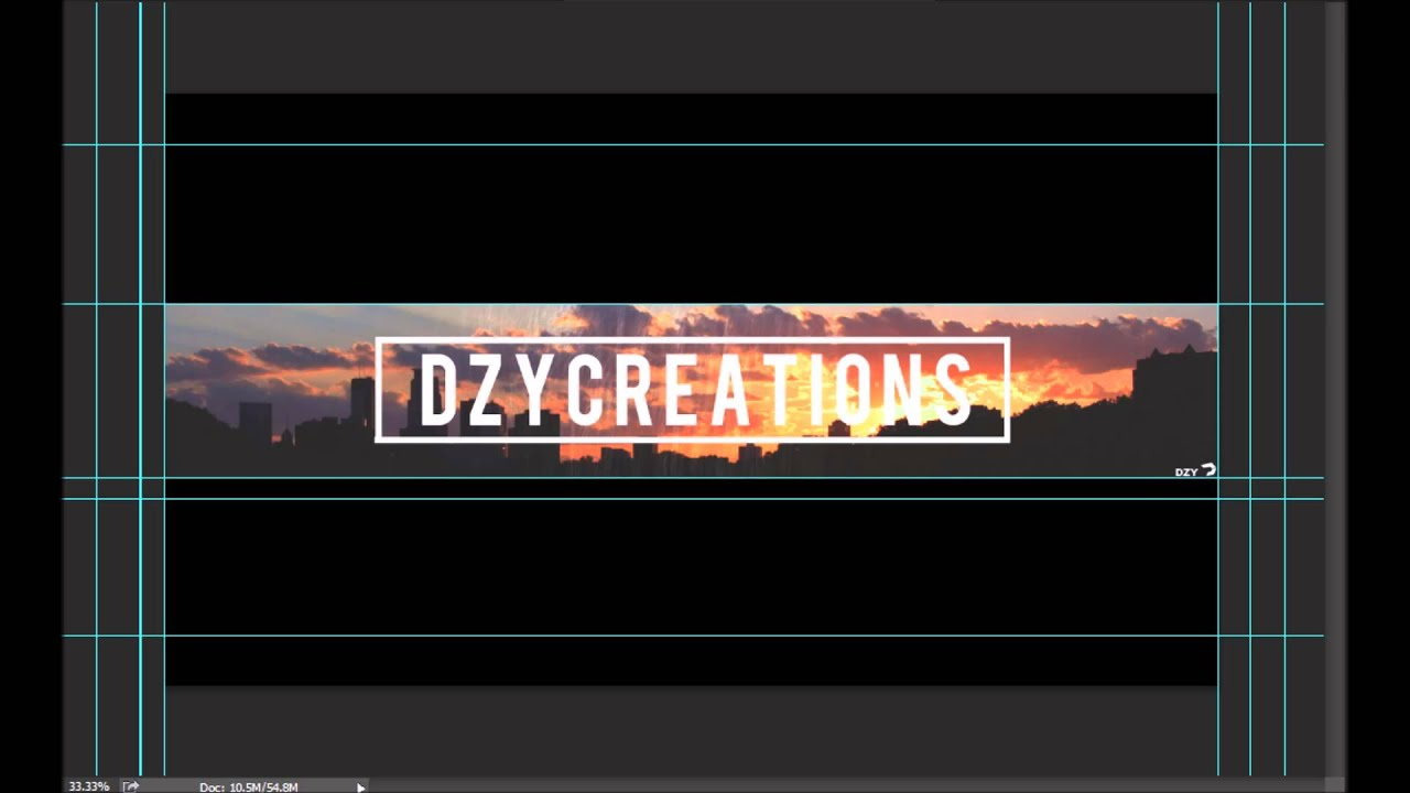 Youtube Banner Template City Highlights By Dzycreations Youtube