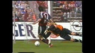 Dortmund gegen Bremen, Bayern gegen Hansa Rostock und Leverkusen gegen Hertha BSC