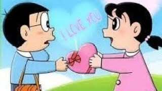 Nobita And Shizuka love whatsapp Status Video Song||Romantic||2018