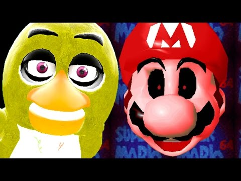 NOT FIVE NIGHTS AT FREDDY'S! 2 - Gmod Scary Mario Horror Mod (Garry's Mod)