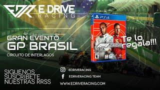 "¡¡EVENTO!! GP BRASIL - ""eDriveRacing Te Regala el F1 2020"""