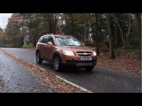 Chevrolet Captiva SUV review - What Car?