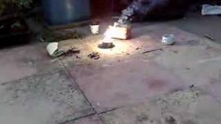 sodium nitrate, sugar, sulphur, aluminium(2)