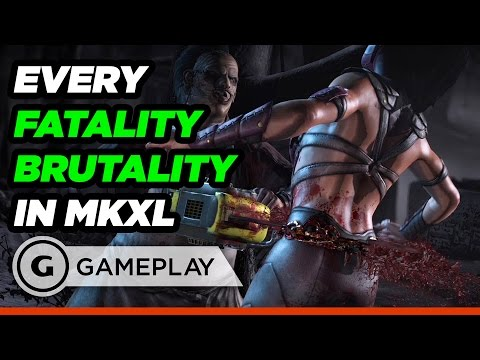Every Fatality and Brutality in Mortal Kombat XL