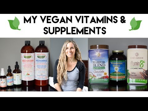 My Vegan Vitamins & Supplements