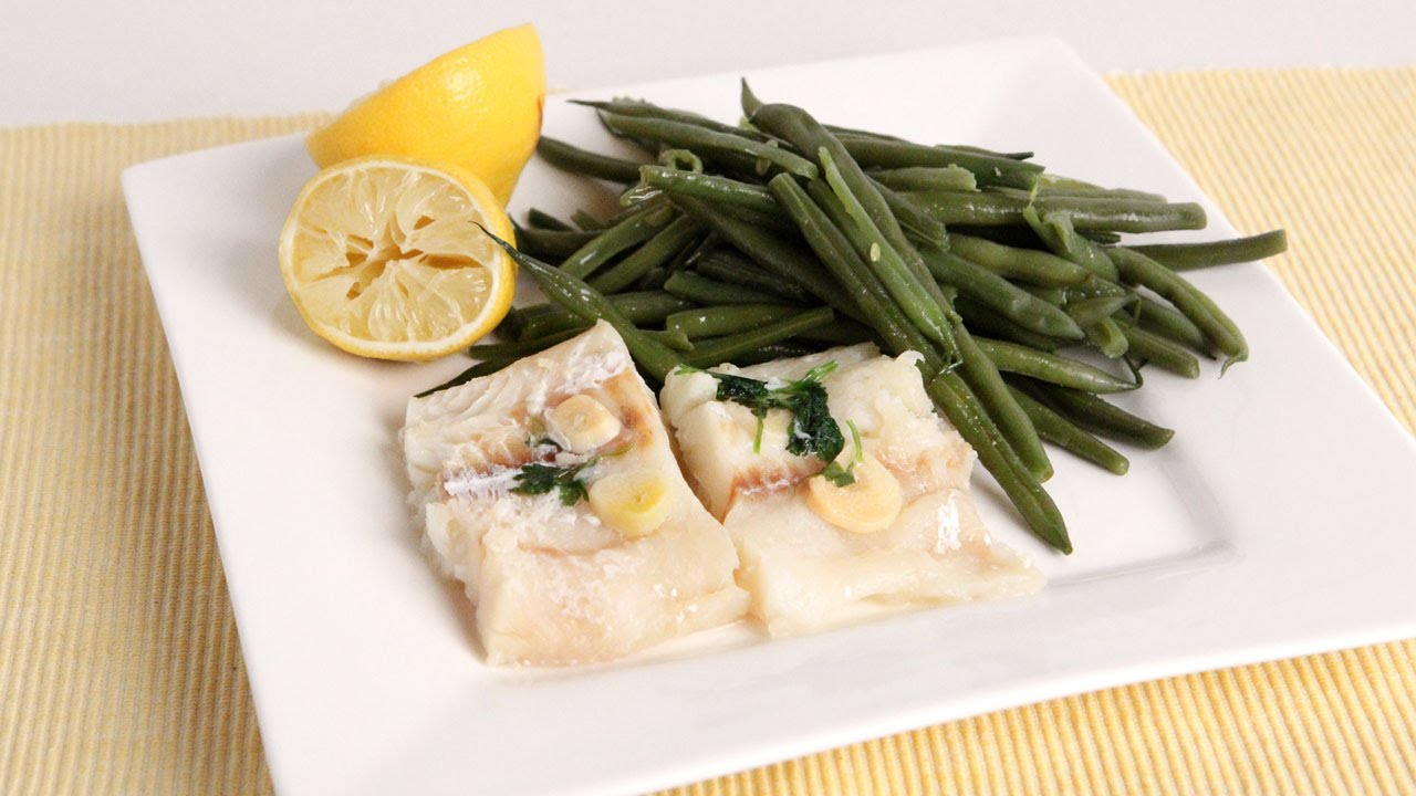 Nonna S Easy Steamed Cod Green Beans Laura Vitale Laura In