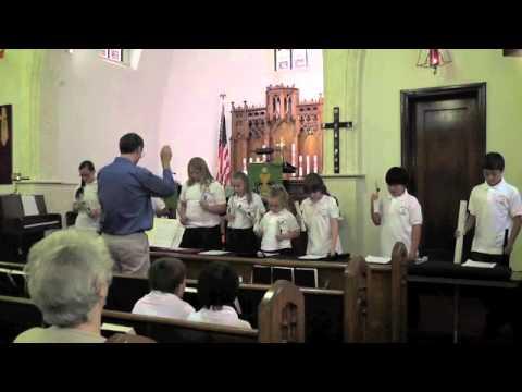 The Lutheran Academy, Scranton, Chime Choir 2012