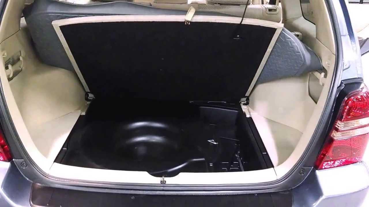 2003 Toyota Highlander spare tire - YouTube