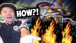 How Did I Not Burn A Combo Piece?! | EXODIA MAGE | THE WITCHWOOD | HEARTHSTONE | DISGUISED TOAST