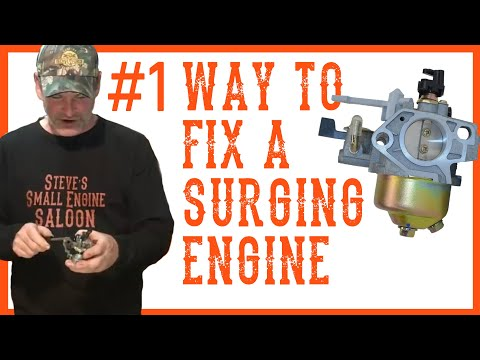 How Do I Fix a Surging Engine Video (Lawn mowers, tillers, pressure washers etc.)