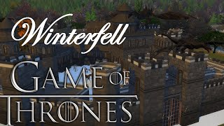 CASTELO WINTEFELL | GOT Game of thrones| THE SIMS 4 DOWNLOAD / Видео