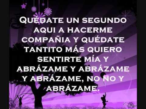 Camila  - Abrazame (Letras)