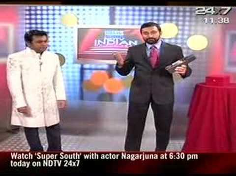 NDTV Indian Of The Year - A R Rahman(Music)