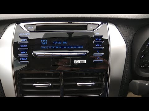 Connecting mobile to Toyota yaris j variant (base Variant) Infotainment Explained