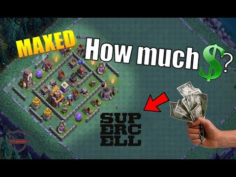 How Much Will A MAXED Builder Base Cost You? (At Release) - Clash of Clans