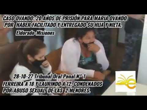 Caso Ovando. 20 años de condena a María Ovando