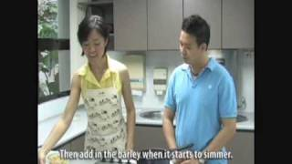 Khoo Teck Puat Hospital Foo Chuk With Barley In Soybean Milk