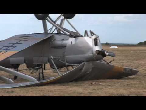 Tiger Moth Plane Crash 15 11 08 Youtube