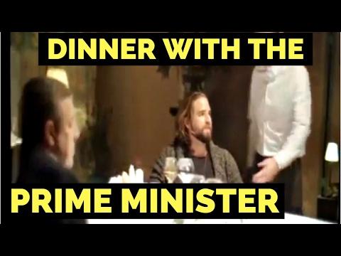 dinner with the prime minister (the truth)
