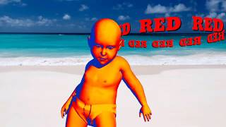 Learn colors with baby dancing for children, 3D baby color dancing for kids learn colors