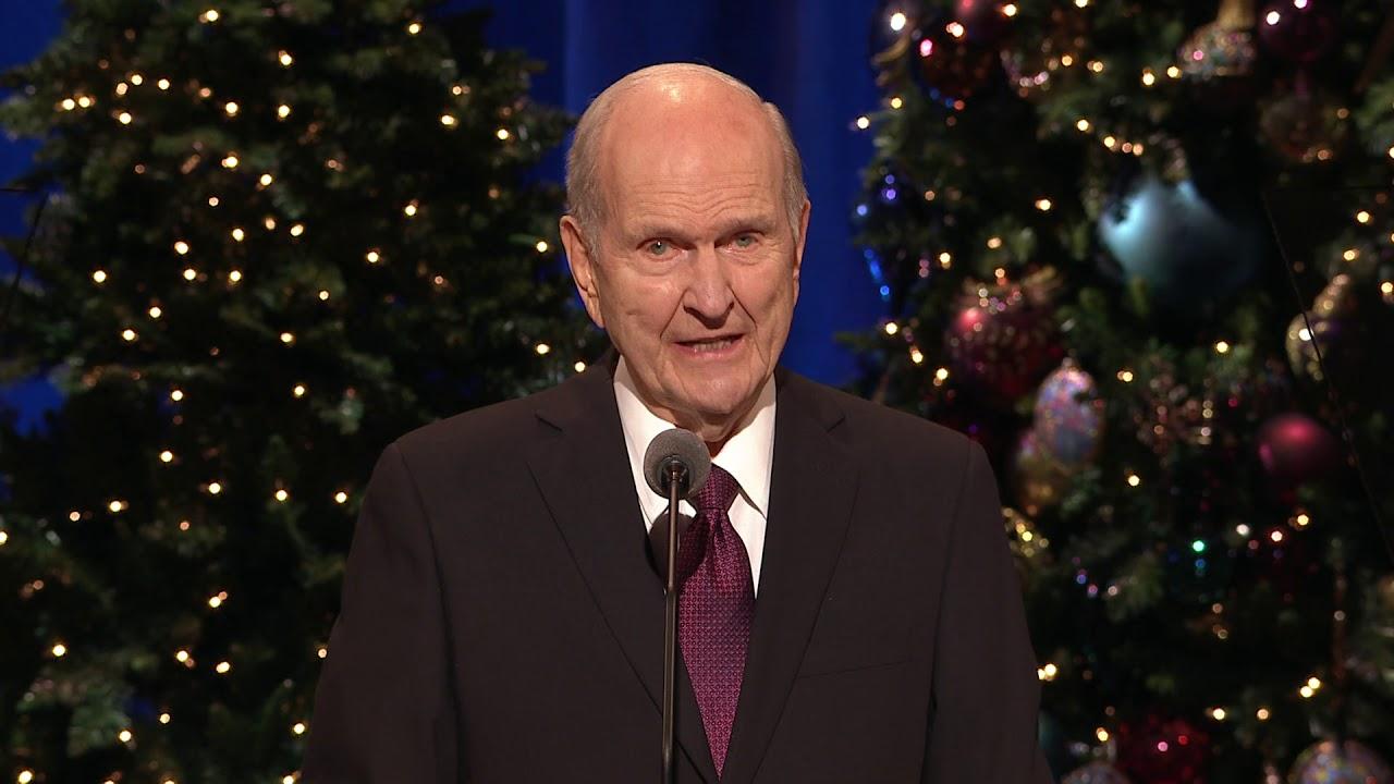 Lds Christmas Devotional.2018 Christmas Devotional President Nelson Speaks