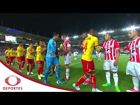 Resumen  Necaxa 2 - 1 Morelia | Clausura 2017 - Jornada 15 | Televisa Deportes