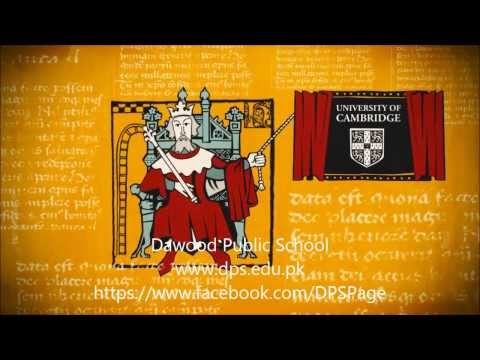 Dawood Public School Official Video I Brief history of Cambridge University Press........ Must Watch