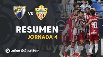 Resumen de Málaga CF vs UD Almería (0-1)