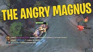 The Angry Magnus - DotA 2 Techies Full Match