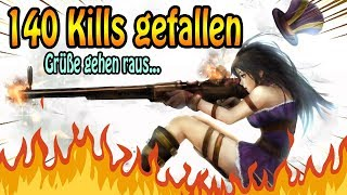 ~ 140 KILLS in einem Game - Caitlyn ADC - Grüße gehen raus ...