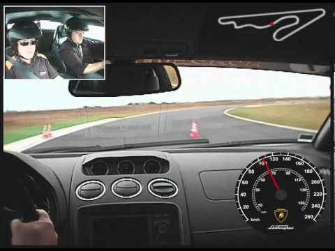 Lamborghini Gallardo Lp560 4 Circuit Fontenay Le Comte Youtube