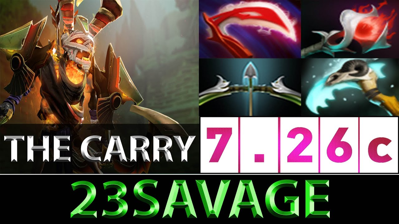 23savage Clinkz Versatile Carry Best Carry Sea Ranked Dota 2 7 26c Youtube