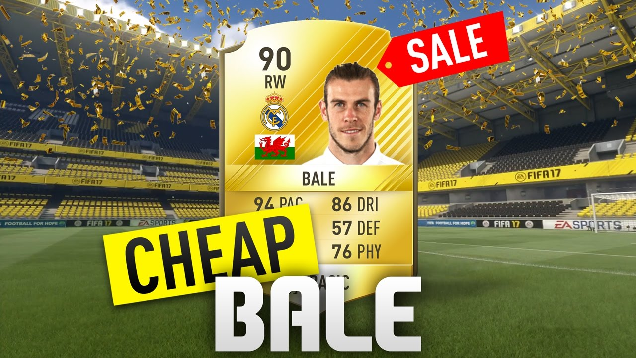 fifa 17 the cheap bale youtube. Black Bedroom Furniture Sets. Home Design Ideas