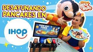 Gambar cover Desayunando Pancakes en IHOP - Bely y Beto