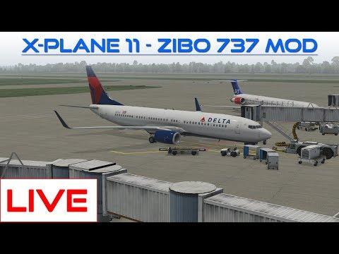 LIVE: Zibo 737 Mod (X-Plane 11)