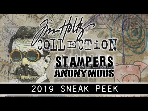 Tim Holtz 2019 Stampers Anonymous